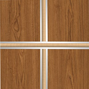 412 With Contrasting Laminate Insert