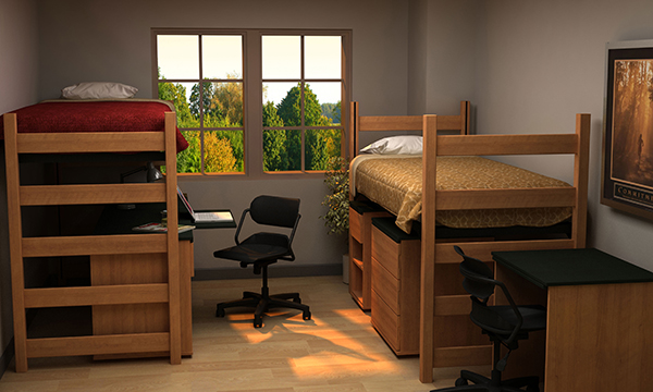 Residential Room 10 - Residence Hall Furniture