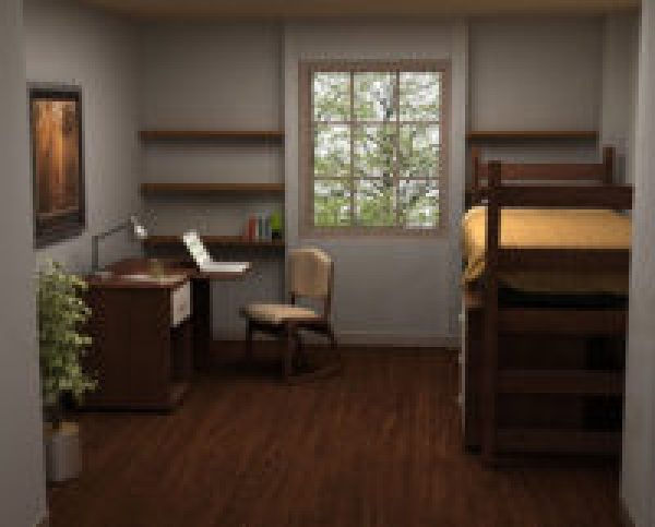 Residential Room 4 - Residence Hall Furniture
