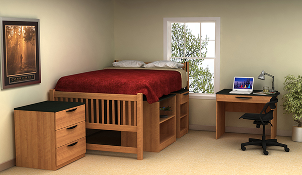 Residential Room 7 - Residence Hall Furniture