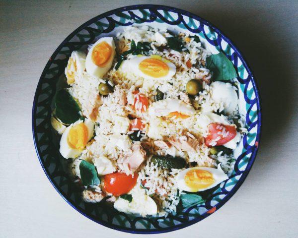 Insalata di riso Ensalada de arroz