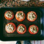 Pomodori col riso - Tomates con arroz 12