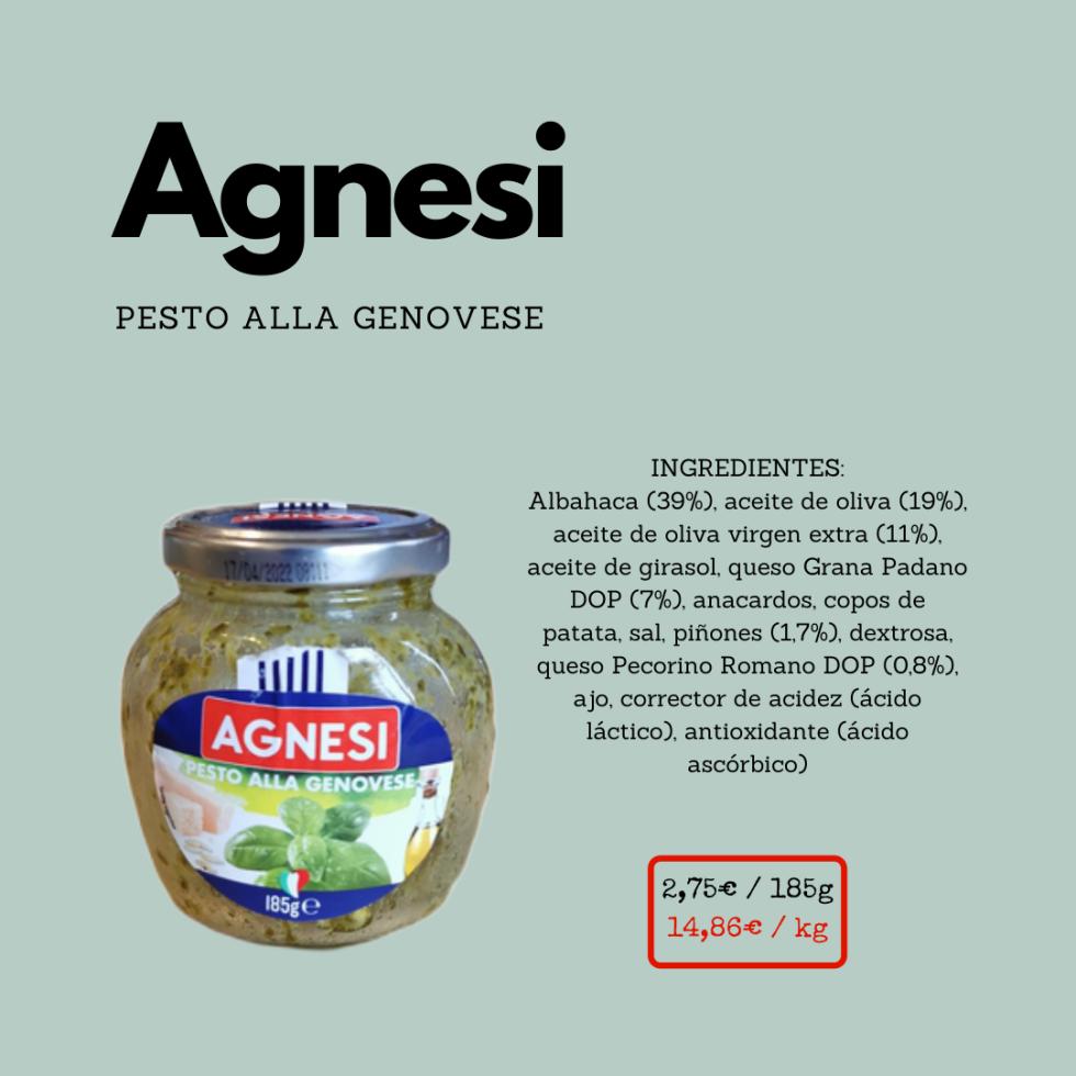Pesto Agnesi ficha