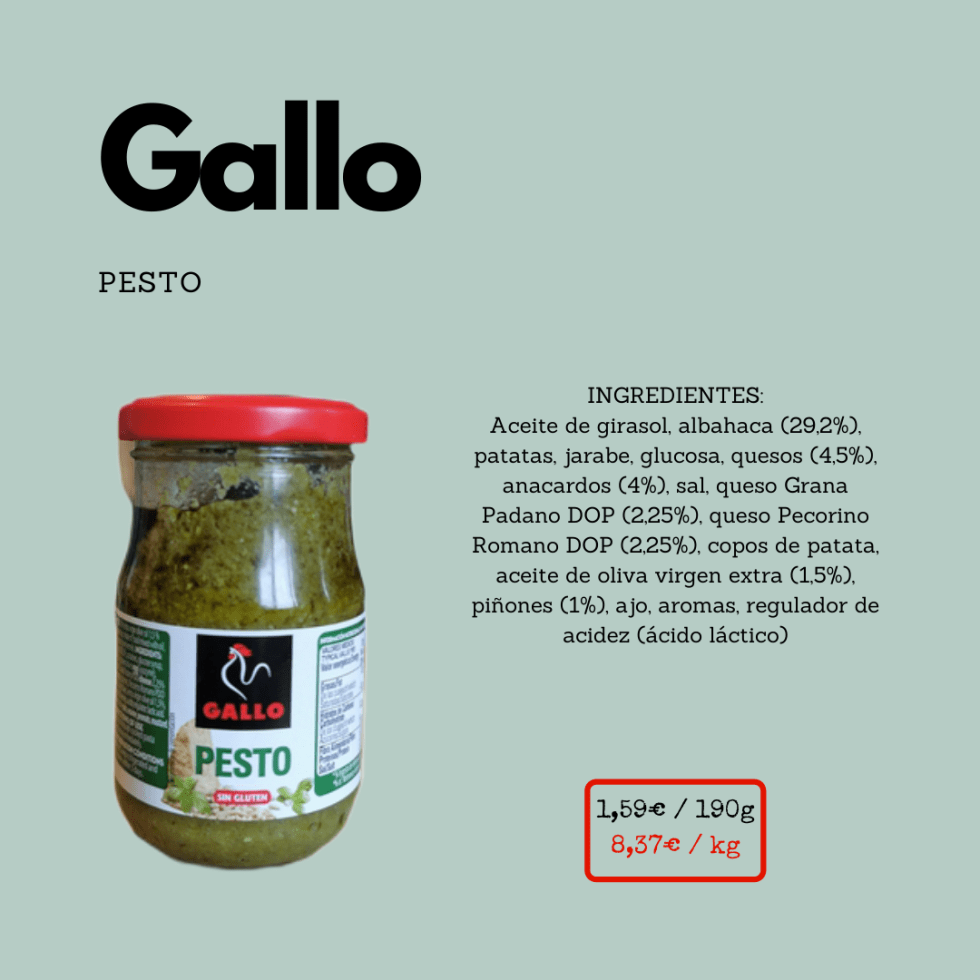 Pesto Gallo ficha