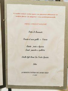 Palazzolo Acreide Andrea menú