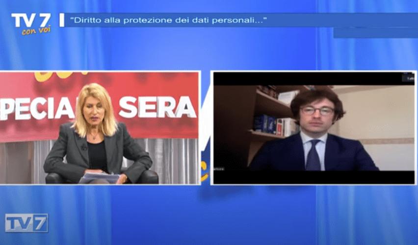 Federico Sartore ospite a Tv7 con voi