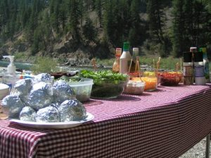 Lunch on the Clark Fork