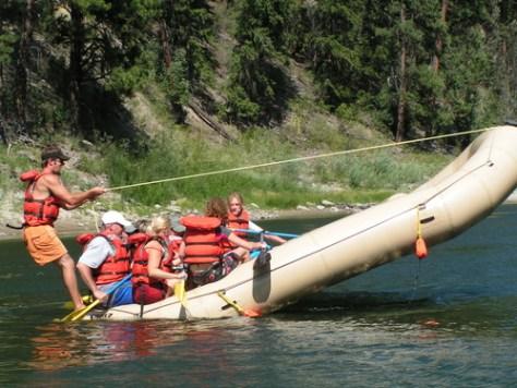 Clark Fork River Rafting