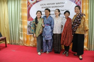 pangalay dance demo participants