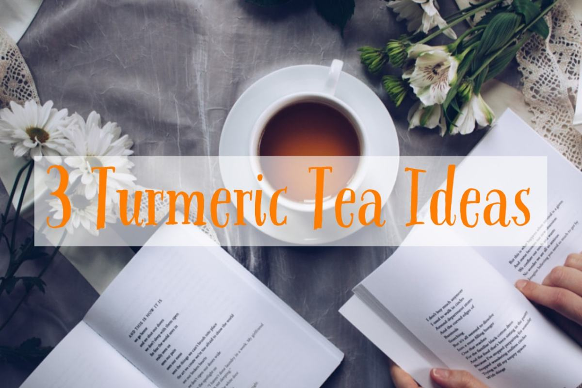 3 Turmeric Tea Ideas