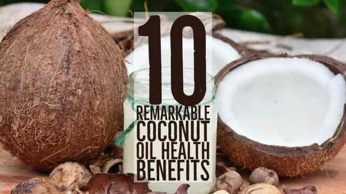 coconut oil health benefits