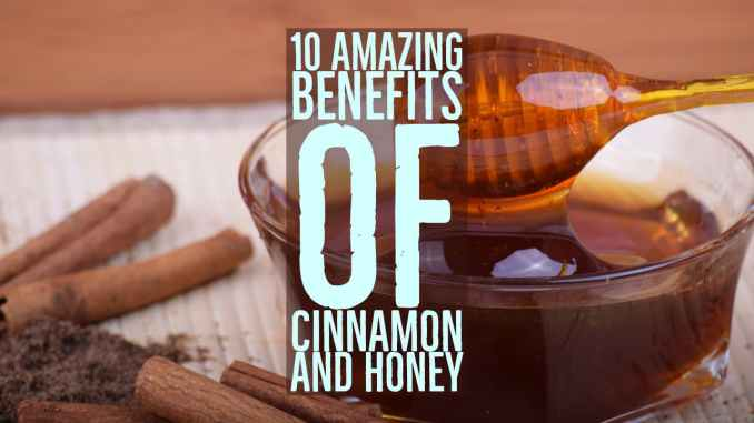 what are benefits of cinnamon and honey