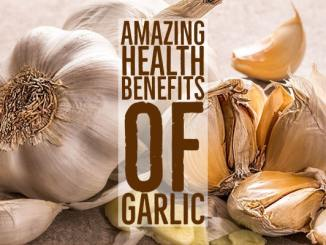 Amazing Health Benefits Garlic