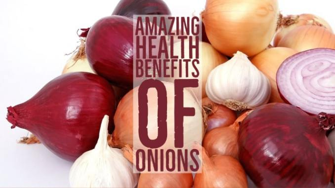 Amazing Health Benefits Onions