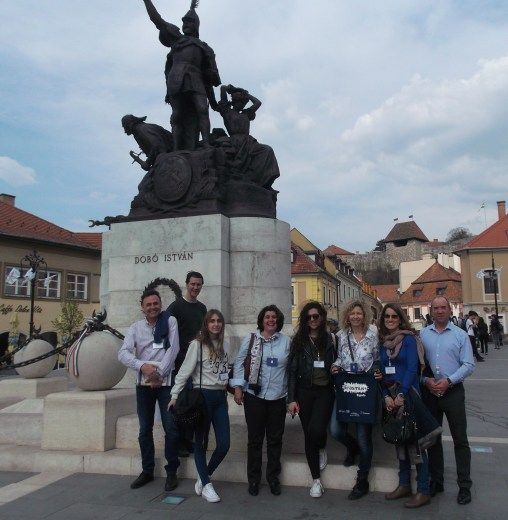 Spain team in Eger