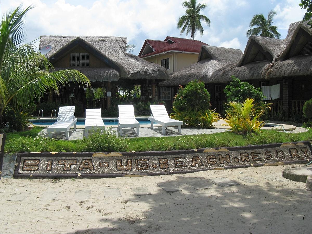 Bita ug beach resort panglao island bohol philippines