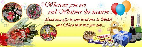 Bohol gifts banner