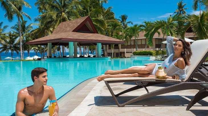 Henann resort alona beach in bohol pool bikini