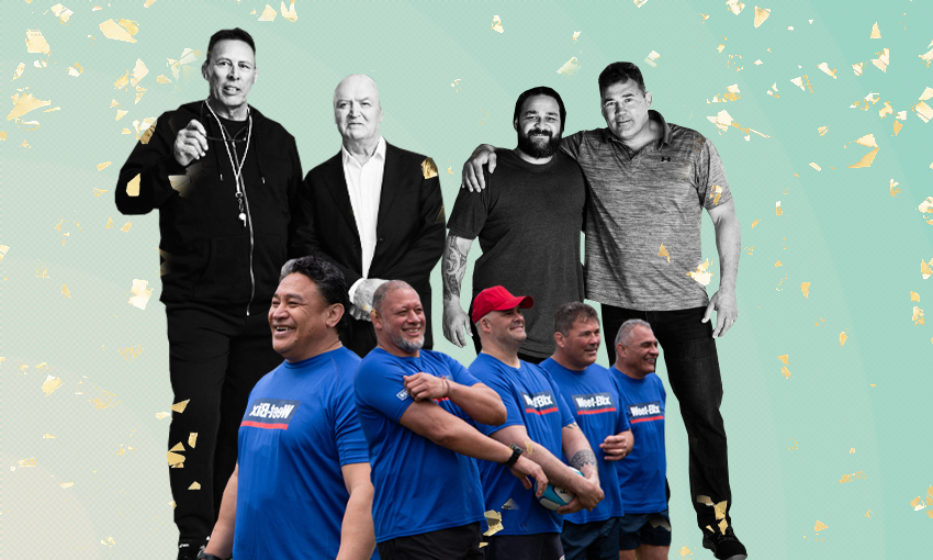 Match Fit shows former All Blacks overweight and struggling – just like the rest of us