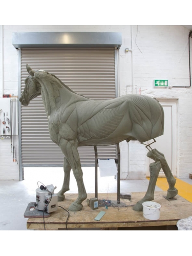 'original' 'model' of Legend by 'Damien Hirst' at Pangolin Editions