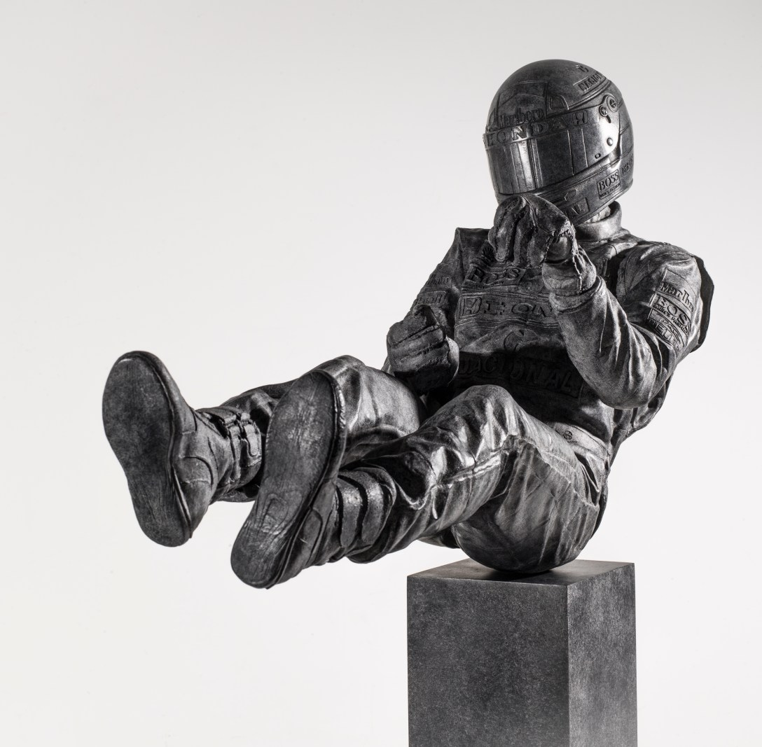 Finished 'Bronze' 'Sculpture' of 'Senna' by artist Paul Oz at Pangolin Editions