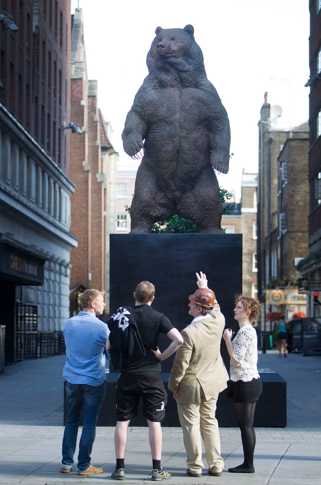 'Bronze' 'sculpture' by Nick Bibby, 'cast' at Pangolin Edition