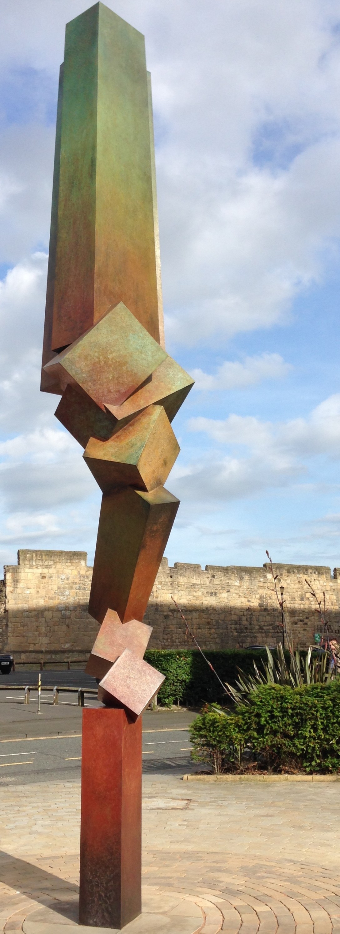 Bruce Beasley 'Bronze' 'Sculpture' with 'Patina' in Newcastle