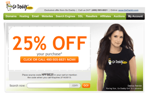 Godaddy offer