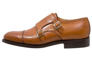 Barker TUNSTALL - Eleganckie buty - cedar prezenty dla mezczyzny
