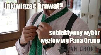 wiazanie krawata