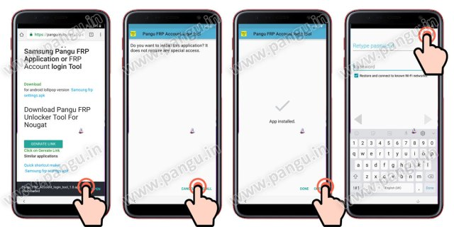 Samsung Galaxy On8 On8 Plus (2018) V8.0 Frp Lock Remove google account done install frp unlock apk or frp account login apk