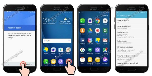 FRP Samsung Galaxy J7 Prime (G610f, G610Fn) J7 Max (G615f