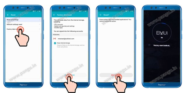 Unlock FRP Honor 9 lite LLD-AL10 without Miracle Box, MRT or UMT