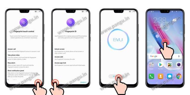 Huawei Honor 8X JSN-L22 Unlocked FRP account successfully