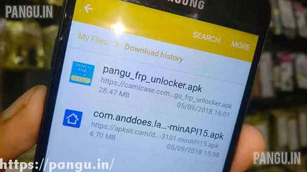 Pangu FRP unlocker for Android Nougat 7 0, 7 1 2 - Pangu in
