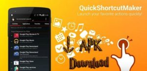 Download quick shortcut maker 2.4.0 to bypass FRP