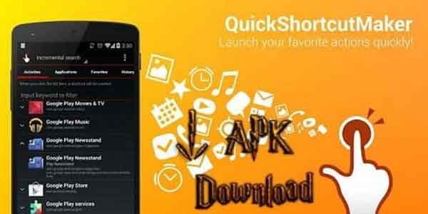 Quick Shortcut Maker 2.4.0 2017 or QuickShortcutMaker