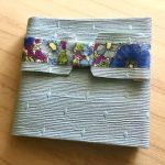 No.23 MEMO BOOK リバティ Gloria Flowers blue … ¥1,200 (布・厚紙)(大きさ:横約8cm x 縦約8cm) (水濡れ厳禁)