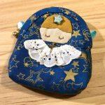 No.125 おチビちゃん天使のポーチ(青) … ¥850