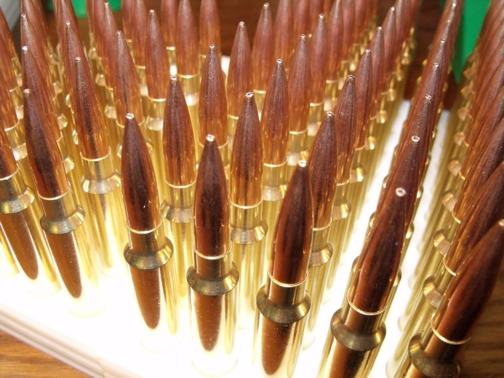 Reloading Long Range 338 Edge Ammo