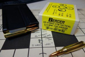 Berger 6.5 MM 130 Grain AR Hybrid OTM Tactical: Deadly And Accurate