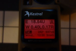 Kestrel 5700 Elite Red Backlight