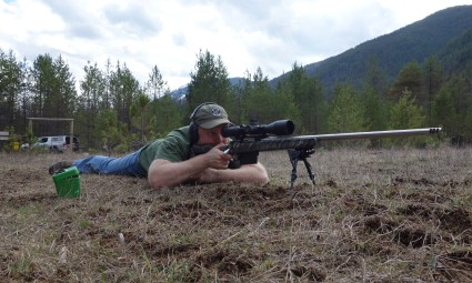 Sam Millard Testing Long Range Hunting Load