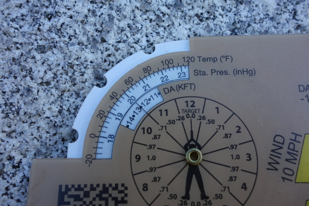 Accuracy 1st Whiz Wheel Station Pressure Scale