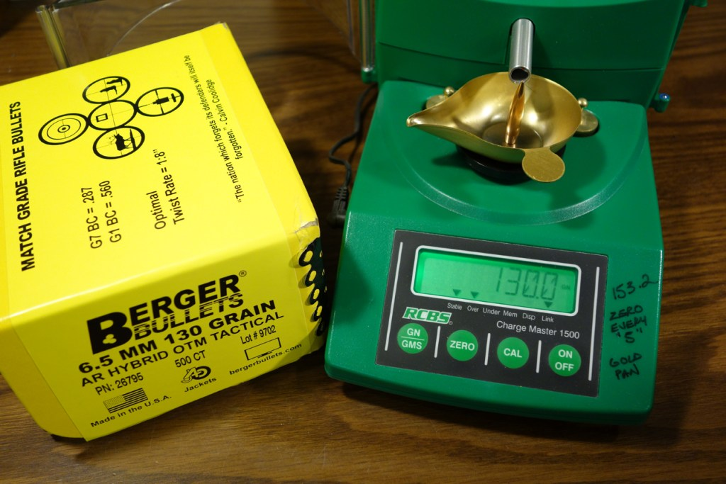 Berger 130 AR Hybrid Load Data & Performance Evaluation