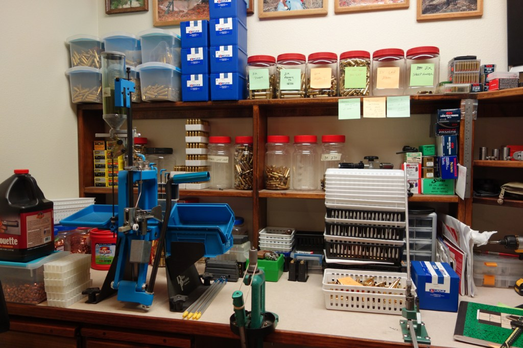 West Reloading Bench