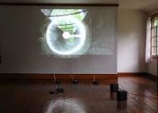 untitled (khora study #2), 2014; Radio broadcast, digital audio, single-channel video