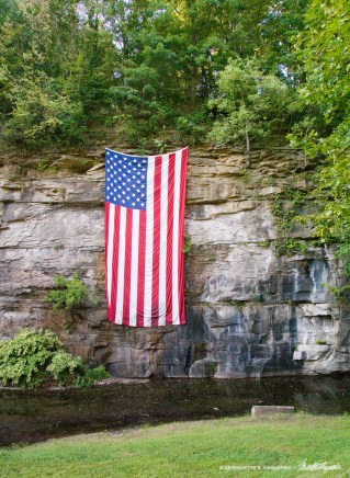 The big flag.