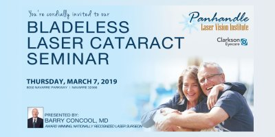 Panhandle Vision Institute, Bladeless Laser Cataract Seminar
