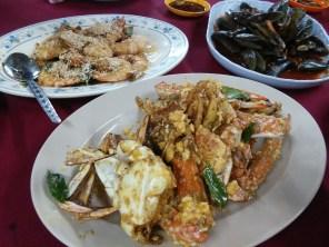 Crab and Prawh combo